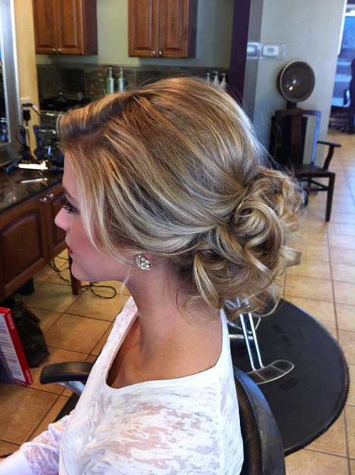 Wedding Hair Low Updo Images
