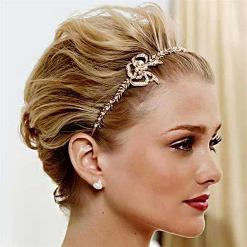 formal Party Hairstyles for Short Hair