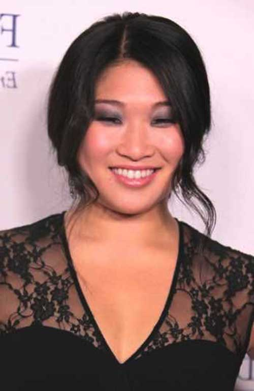Asian Hairstyles for Round Faces-10