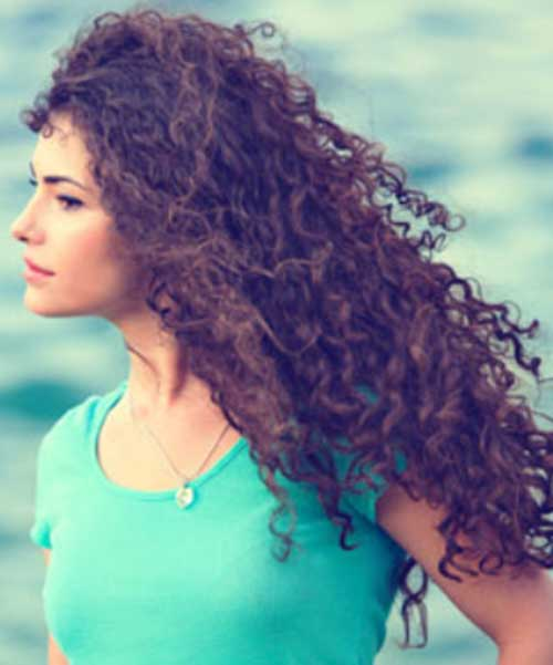 Girls with Long Curly Hair-10