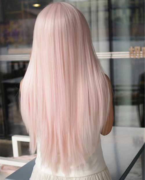 30 Pink Blonde Hair Color  Hairstyles Amp Haircuts 2016  2017