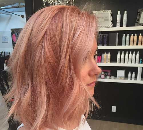 Pink Blonde Hair Color-11