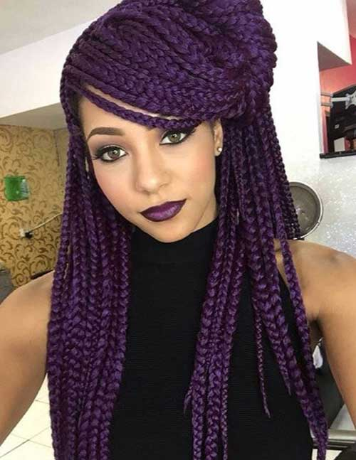 Afro Hairstyles with Braids-12