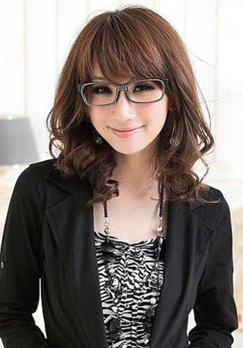 Pleasant 25 Asian Hairstyles For Round Faces Hairstyles Amp Haircuts 2016 Short Hairstyles Gunalazisus