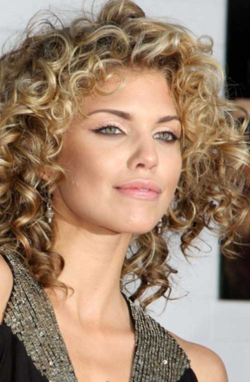 Outstanding 35 Latest Curly Hairstyles 2015 2016 Hairstyles Amp Haircuts Short Hairstyles Gunalazisus