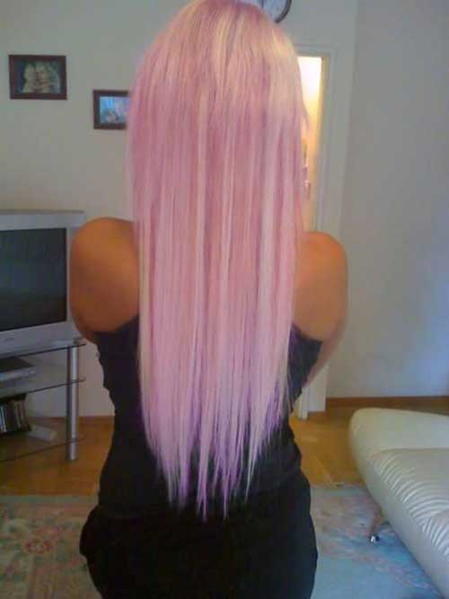 Pink Blonde Hair Color-12