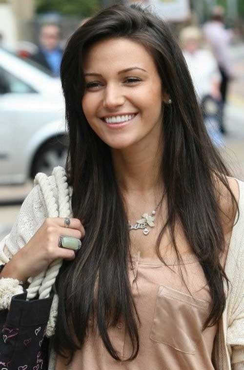 Long Dark Brown Hairstyles-13
