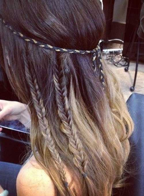 Cute Summer Hairstyles for Long Hair-14