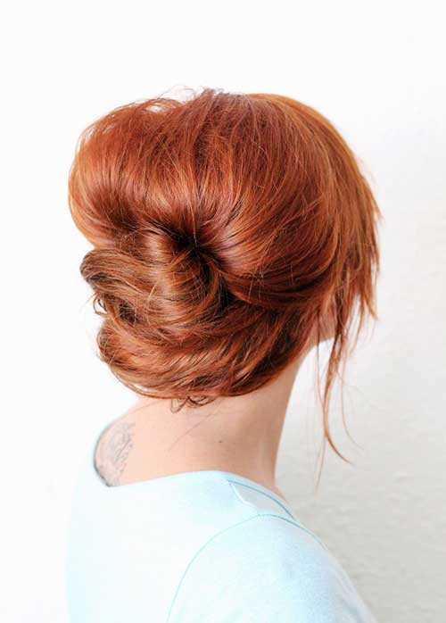 French Bun Hair-14