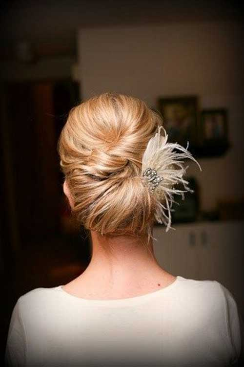 French Bun Hair-15