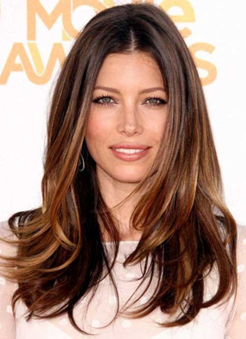 Long Dark Brown Hairstyles-15