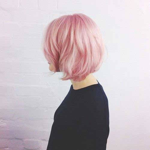 Pink Blonde Hair Color-15
