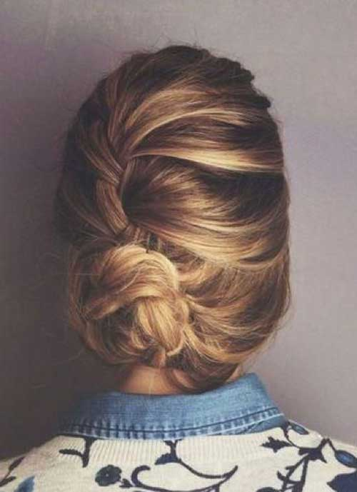 French Bun Hair-16