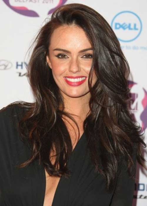 Long Dark Brown Hairstyles-17