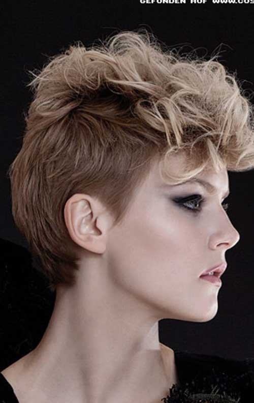 Punk Hairstyles for Curly Hair-17
