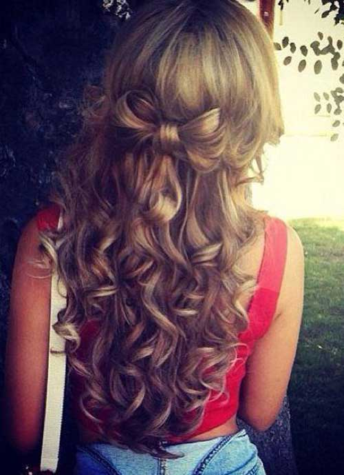 Cute Long Curly Hairstyles-18