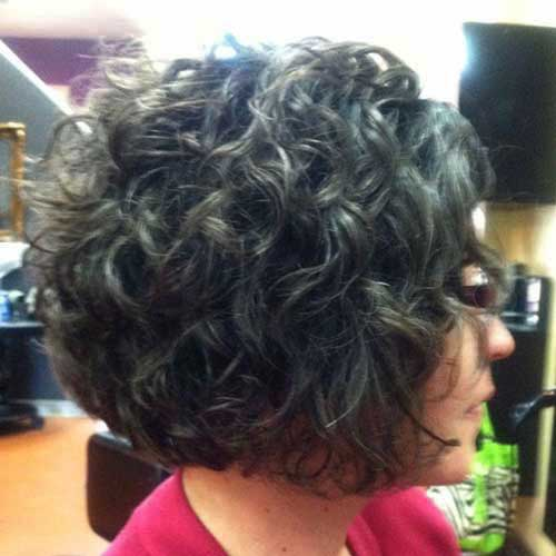 ... Hairstyles on Pinterest | Curly Gray Hair, Gray Hair and Curly Perm