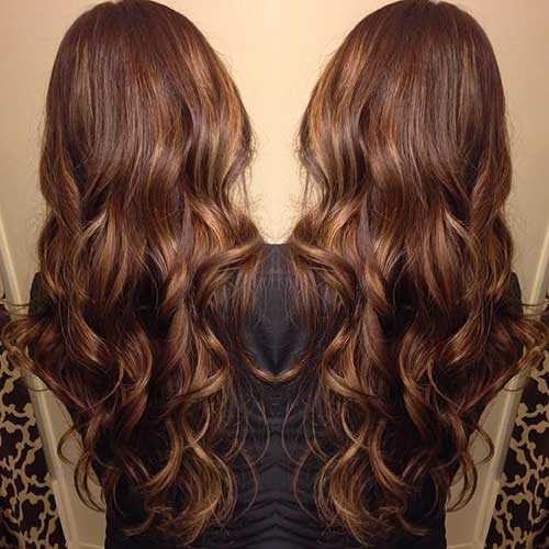 Long Dark Brown Hairstyles-18