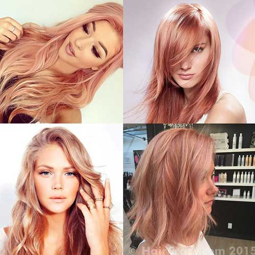 Pink Blonde Hair Color-18