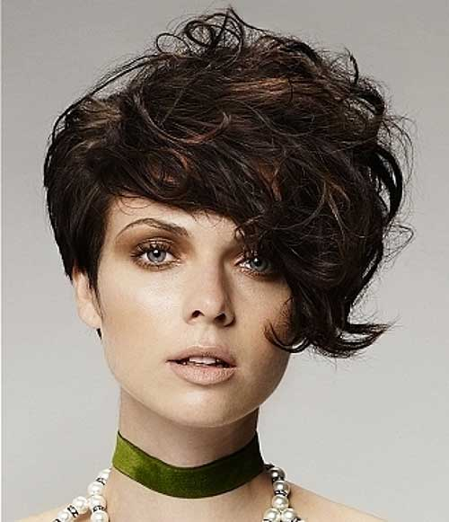 Punk Hairstyles for Curly Hair-19