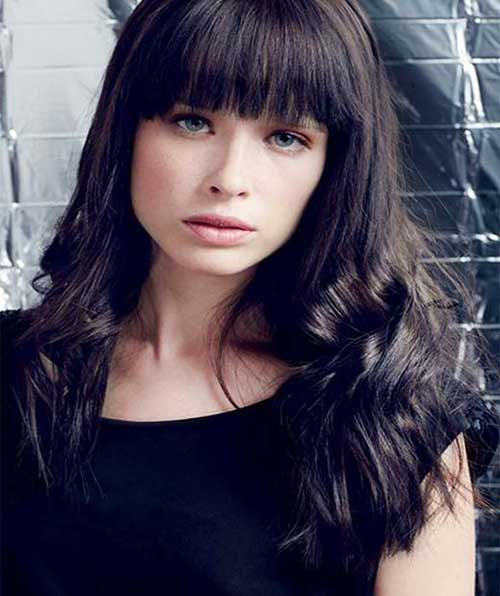 Hairstyles with Bangs 2015-20