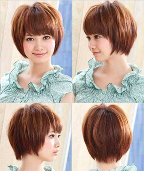 Back asian face hair round style love her