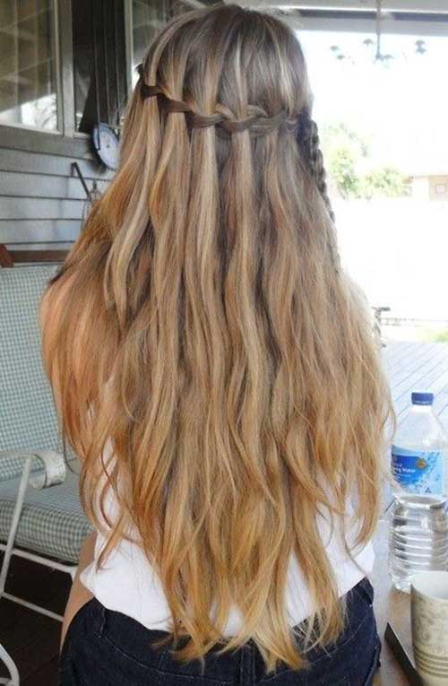 Cute Summer Hairstyles for Long Hair-21