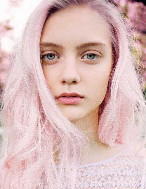 Pink Blonde Hair Color-22
