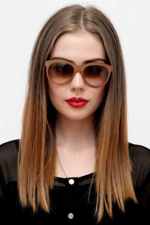 Remarkable 20 Medium Long Length Hairstyles Hairstyles Amp Haircuts 2016 2017 Short Hairstyles Gunalazisus