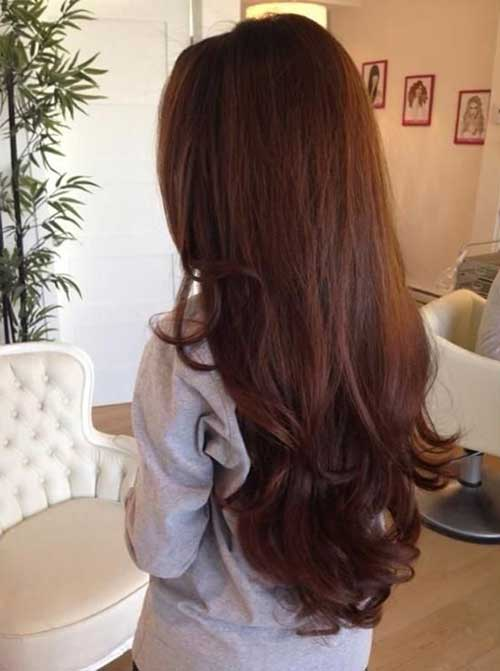 Long Dark Brown Hairstyles-24