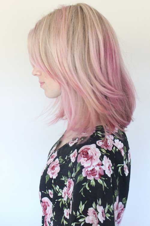 Pink Blonde Hair Color-28
