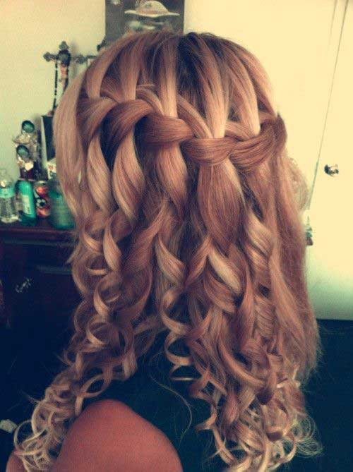 Cute Long Curly Hairstyles-29