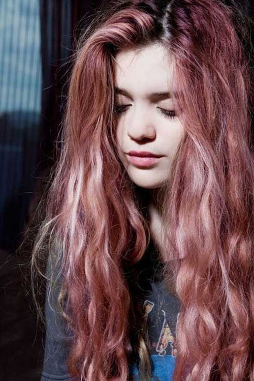 Pink Blonde Hair Color-29