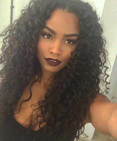 Black Women Curly Hairstyles 30
