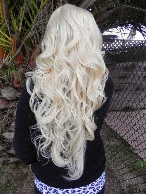 Cute Long Curly Hairstyles-33