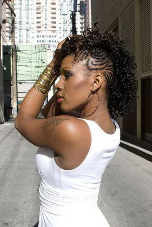 Wondrous How To Make Black Hair Curly With Braids Braids Short Hairstyles For Black Women Fulllsitofus