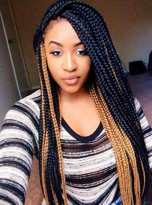 African Braids for Long Hair