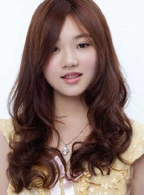 Asian Hairstyles for Round Faces