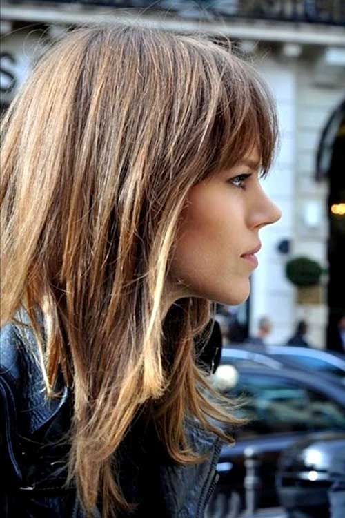 Excellent 20 Best Hairstyles For Long Face Hairstyles Amp Haircuts 2016 2017 Short Hairstyles Gunalazisus