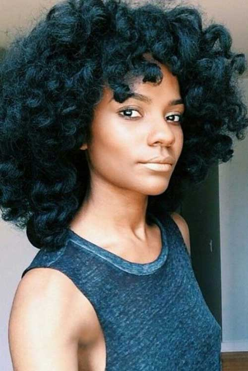 Black Woman Curly Hair Styles