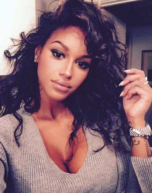 Black Women Curly Hairstyles