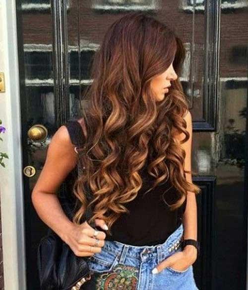 Strange 30 Cute Long Curly Hairstyles Hairstyles Amp Haircuts 2016 2017 Short Hairstyles Gunalazisus
