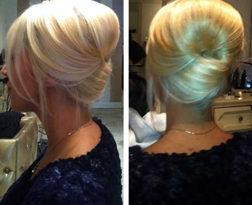 Excellent 15 French Bun Hair Hairstyles Amp Haircuts 2016 2017 Hairstyles For Women Draintrainus