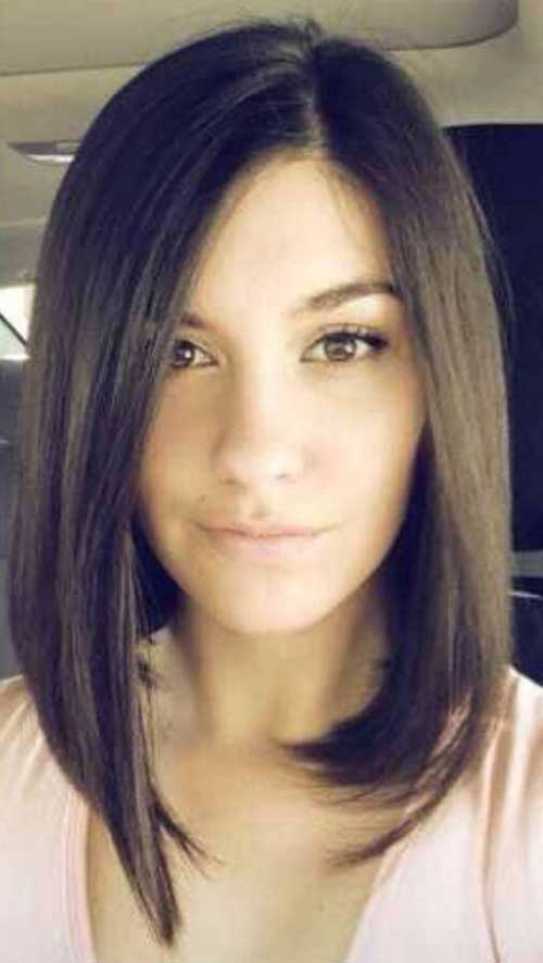 15 Best Hairstyles for Round Faces Long Hair | Hairstyles