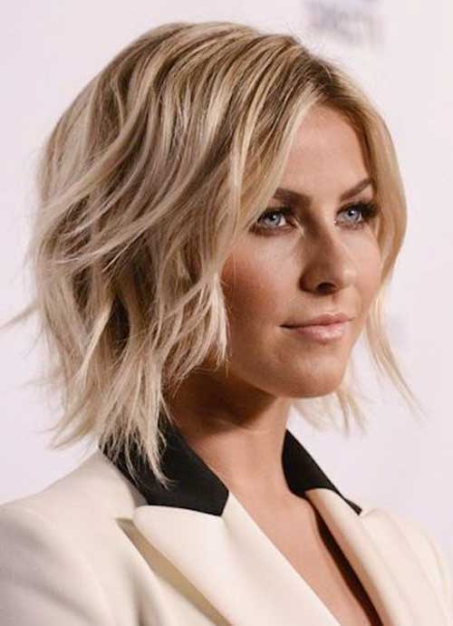 Magnificent Layered Haircut For Round Face 2016 Best Hair Style 2017 Short Hairstyles Gunalazisus