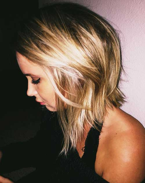 Pictures Of Medium Hairstyles For 2017 : Medium long length hairstyles haircuts
