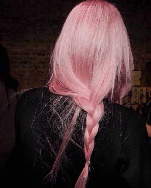Pink Blonde Hair Style