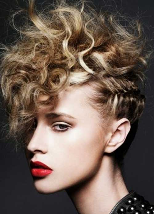 Fantastic 25 Punk Hairstyles For Curly Hair Hairstyles Amp Haircuts 2016 2017 Hairstyle Inspiration Daily Dogsangcom