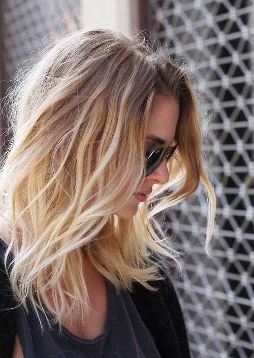 Medium Long Hairstyles-13