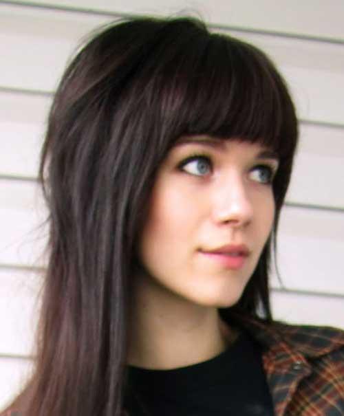Bangs Hairstyles-14